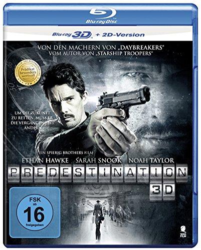 Predestination - Entführung in die Zukunft (Prädikat: Besonders wertvoll) [3D Blu-ray + 2D Version]