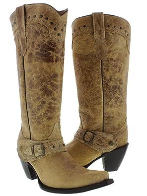Women's Tall Shaft Western Boots 18