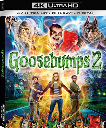 4K Blu-ray : Goosebumps 2: Haunted Halloween (With Blu-ray, 4K Mastering, 2 Pack, Digital Copy, Widescreen)