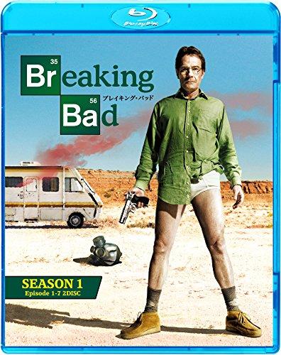 ブレイキング・バッド シーズン1 ブルーレイ コンプリートパック(2枚組) [Blu-ray]