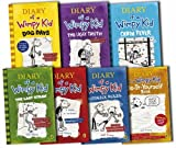 Jeff Kinney Diary of a Wimpy Kid Collection 7 Books Set Pack by Jeff Kinney RRP: £54.93 (Wimpy Kid) (Diary of a Wimpy Kid, Rodrick Rules, The Last Straw, Do-It-Yourself Book, Dog Days, The Ugly Truth, Cabin Fever)