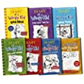 Diary of a Wimpy Kid Collection 7 Books Set Pack by Jeff Kinney RRP: �54.93 (Wimpy Kid) (Diary of a Wimpy Kid, Rodrick Rules, The Last Straw, Do-It-Yourself Book, Dog Days, The Ugly Truth, Cabin Fever)