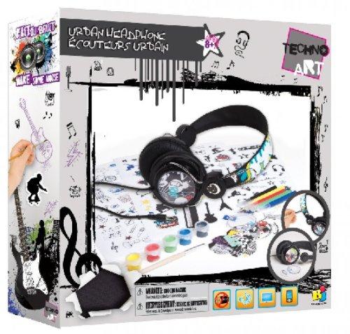 Bojeux Boys Techno Art Urban Headphone