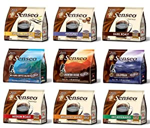 Senseo Flavored Coffee Variety Packs, Choose Your Own Combo by Douwe Egberts