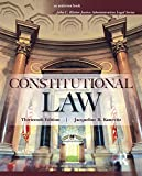 Constitutional Law (John C. Klotter Justice Administration Legal)