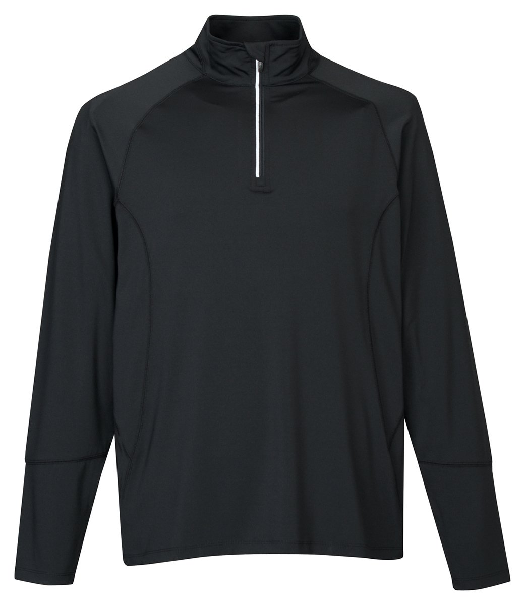 Tri-Mountain Men's Wicking Pullover Shirt
