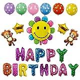 iSportgo 誕生日 バルーン 風船 HAPPY BIRTHDAY バースデー バルーン