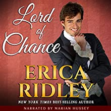 Lord of Chance: Rogues to Riches, Book 1 Audiobook by Erica Ridley Narrated by Marian Hussey