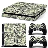 Stillshine PS4 Vinyl Colorés Decal Autocollant Skin Sticker pour Playstation 4 console x 1 et le Manette x 2 (US Dollar)...