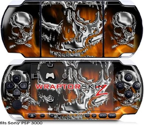 OEM Packaging Sony PSP 3000 Decal Style Skin Camouflage Green