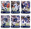 2016 Score Indianapolis Colts Veterans Team Set of 11 Football Cards: Andrew Luck(#137), Matt Hasselbeck(#138), Frank Gore(#139), T.Y. Hilton(#140), Donte Moncrief(#141), Andre Johnson(#142), Coby Fleener(#143), Phillip Dorsett(#144), Robert Mathis(#145),