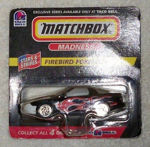 Match Box Taco Bell Car Fire Bird Formula Madness 1998