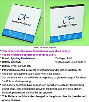 Long Lasting 3400mAh Rechargeable Li_ion Battery for Samsung Galaxy J2 Prime LTE G532M Net10 Smartphone - USA Seller (Color: As shown in picture)