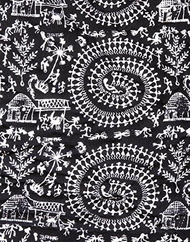 Edredones edredón de algodón de la decoración de la mano Bloque Impreso doble de la vendimia