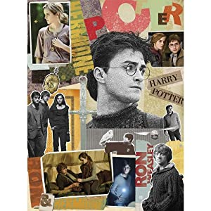 Harry Potter Scrapbook Jigsaw Puzzle (1000 Teile) 51x69cm