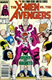 The X-Men Vs. The Avengers #4: Day of Judgment (Marvel Comic Book 1987)