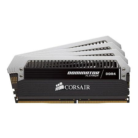 Corsair Dominator Platinum CMD16GX4M4B3200C16 Mémoire RAM 16 Go Noir