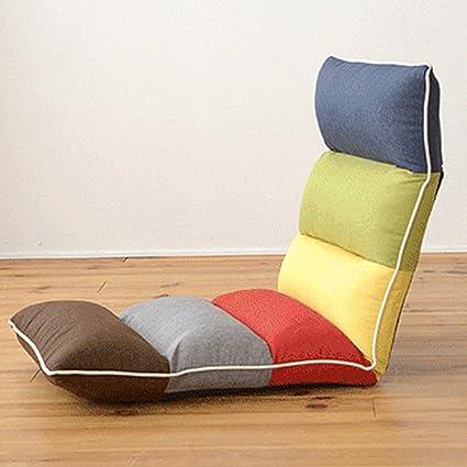 Faltbares, abnehmbares Sofa-Bett / Schwamm Stuhl / Erker Fensterstuhl / Multicolor (mit Farbunterschied)
