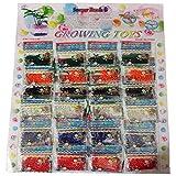 24 Bags, Water Beads, Crystal Gel Water Pearls, Aqua Jelly Beads, Water Growing Balls, Crystal Mud Soil Water...