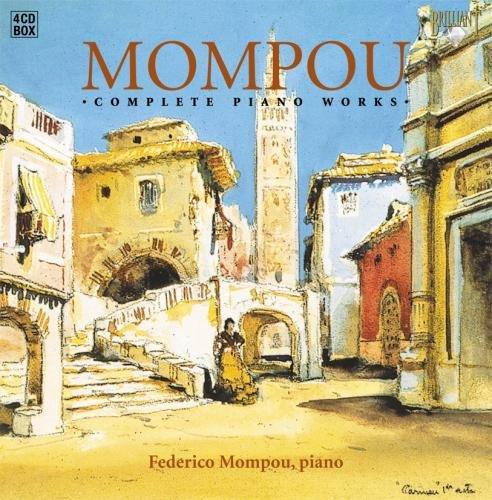モンポウ:ピアノ曲全集(4枚組)/Mompou: Complete Piano Works