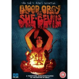 Blood Orgy of the She Devils [Non USA PAL Format]
