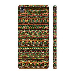 Enthopia Designer Hardshell Case Aztec Signal Back Cover for Sony Xperia M4