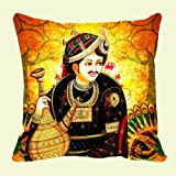 Lali Prints Raja Digitally Printed Cushion Cover