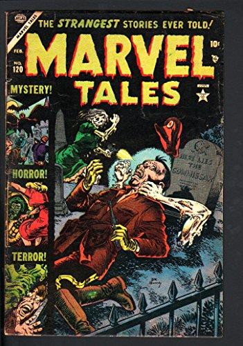 MARVEL TALES #120-ATLAS SCI-FI HORROR-PCH-JOE MANEELY COVER