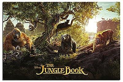 UK版ポスター ジャングルブック Jungle Book ディズニー #2 [並行輸入品]