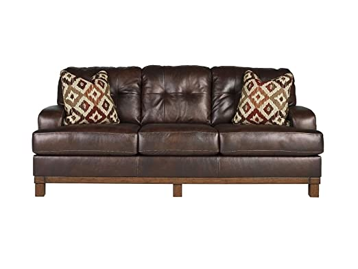 McLarion Walnut Sofa