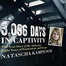 3,096 Days in Captivity: The True Story of My Abduction, Eight Years of Enslavement, and Escape Audiobook by Natascha Kampusch Narrated by Jennifer Scapetis-Tycer