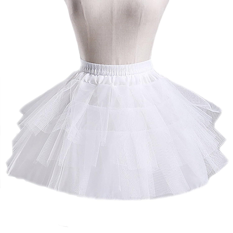 Fashion Plaza Unterrock Tulle ohne Reifen A-linie Tutu Petticoat A0018 günstig online kaufen
