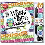 Klutz Make Your Own Washi Tape Stickers: Shape This Tape Into Crazy Cute Stickers Craft Kit