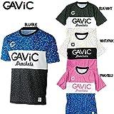 □ガビック gavic(GAVIC)ヘイル柄昇華プラクティスシャツ GA8166 (RO)(ユニセックス) BLU/BLK XL