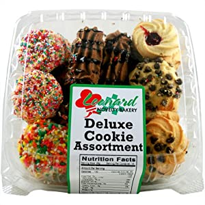 Amazon.com: Leonards Novelty Bakery Deluxe Cookie Assortment - 16oz