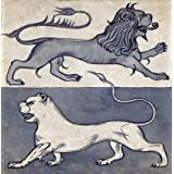 Lions, by William de Morgan (V&A Custom Print)