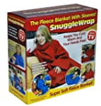 Adult Snuggle Wrap Blanket with Sleev...