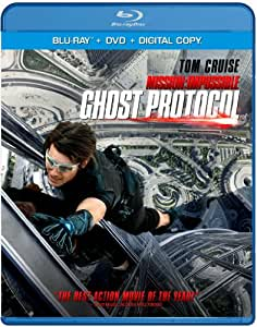 NEW Cruise/renner/pegg/patton - Mission Impossible Ghost Proto (Blu-ray)
