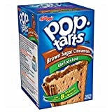 Kellogg's Unfrosted Brown Sugar Cinnamon Pop Tarts