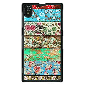 Jugaaduu Floral Pattern Back Cover Case For Sony Xperia Z2