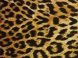 Tejido neopreno leopardo