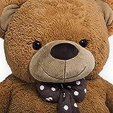 Grand nounours géant Ours en peluche ourson XXL Teddy Bear 150 cm chambre enfant