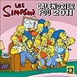 Les Simpson, calendrier fou 2011