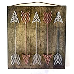 Full Quiver Arrows string art