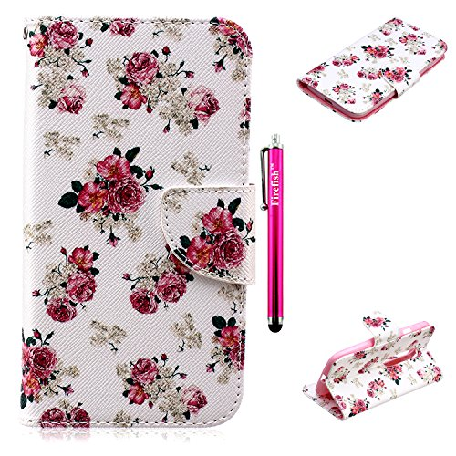 [Moto G 3rd Gen Case, Firefish High Quality PU Leather Wallet Scratch-Resistant Kickstand Feature Magnetic Closure Bumper Case for Motorola Moto G 3rd Gen + One Stylus Pen -] (Homme Costume National)