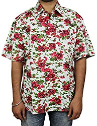 Indian Dress For Men Cotton Beach Shirt Printed Fashion Accessory Comfortable Airy