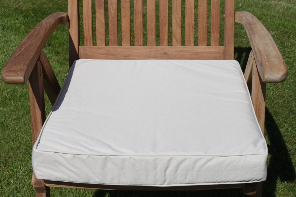 gartenm bel auflage sitzkissen f r gro en gartenstuhl in hellbeige g nstig. Black Bedroom Furniture Sets. Home Design Ideas