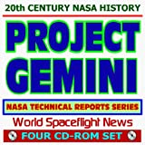img - for 20th Century NASA History: Project Gemini - NASA Technical Reports Series, Capsule, Manned Flights, Technology (Four CD-ROM Set) book / textbook / text book