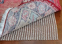 RUG PAD For Runner - Non slip 2 x 7 Foot Area Rug Pads for Wood Floor, Tile etc.- Protect Hardwood Floors And Add Cushion To Hard Surfaces With This 2x7 Ft Anti-Slip Under Rug Gripper.