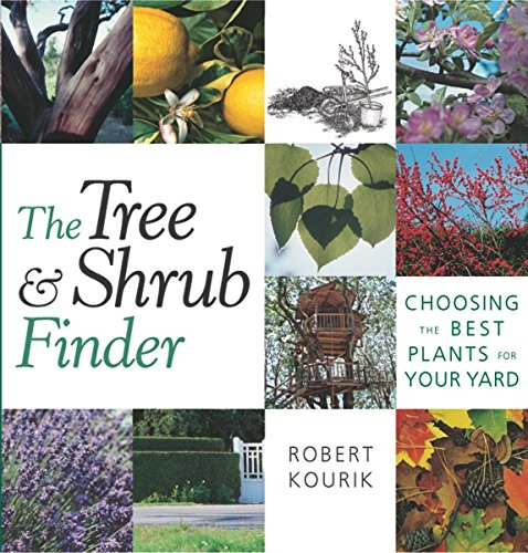 The Tree and Shrub Finder: Choosing the Best Plants for Your Yard, Kourik, Robert